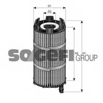 Фильтр масляный FRAM CH11079ECO - изображение 1