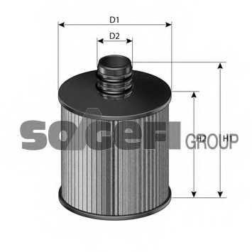 Фильтр масляный FRAM CH11120ECO - изображение 1