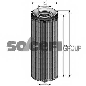 Фильтр масляный FRAM CH11473ECO - изображение