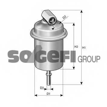 Фильтр топливный FRAM G9961 - изображение 1