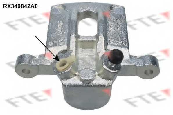 Тормозной суппорт FTE RX349842A0 - изображение