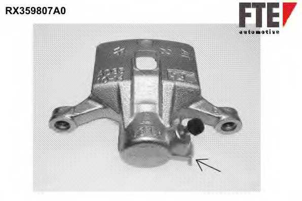 Тормозной суппорт FTE RX359807A0 - изображение