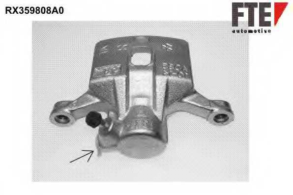 Тормозной суппорт FTE RX359808A0 - изображение