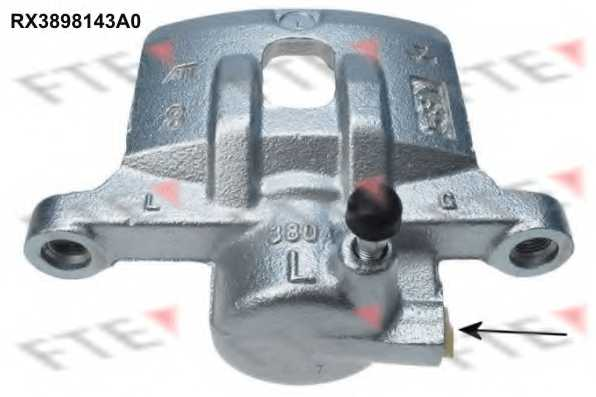 Тормозной суппорт FTE RX3898143A0 - изображение