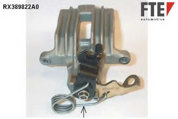 Тормозной суппорт FTE RX389822A0 - изображение