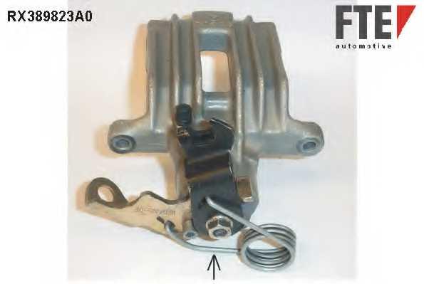 Тормозной суппорт FTE RX389823A0 - изображение