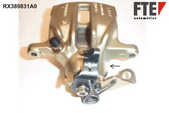 Тормозной суппорт FTE RX389831A0 - изображение