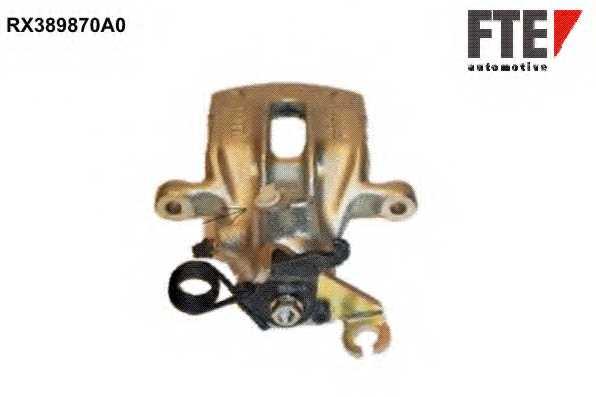 Тормозной суппорт FTE RX389870A0 - изображение