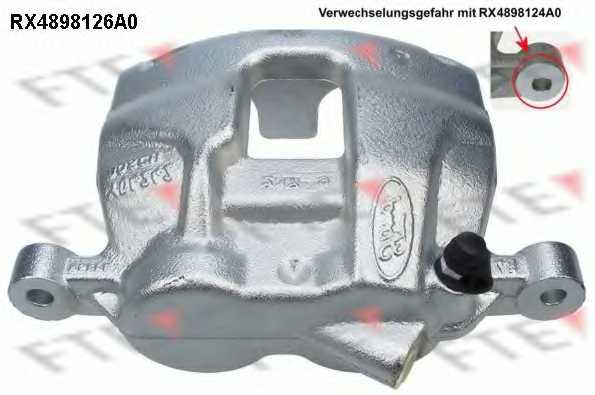 Тормозной суппорт FTE RX4898126A0 - изображение