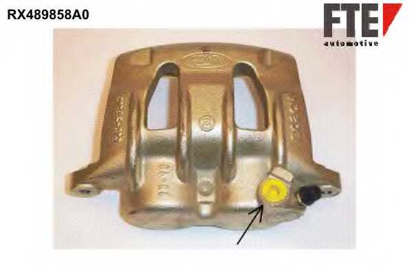 Тормозной суппорт FTE RX489858A0 - изображение