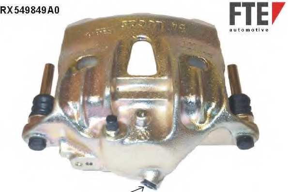 Тормозной суппорт FTE RX549849A0 - изображение