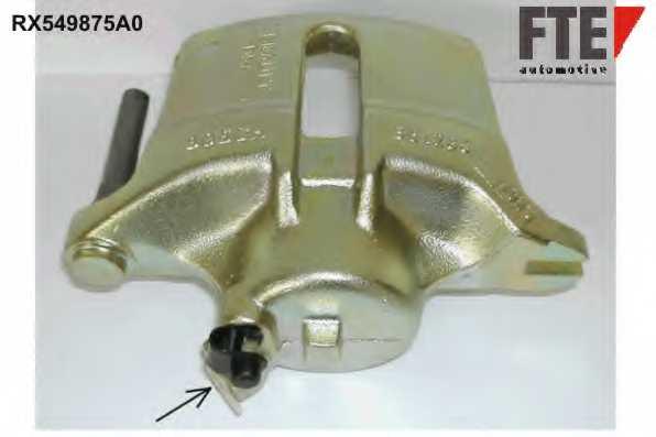 Тормозной суппорт FTE RX549875A0 - изображение