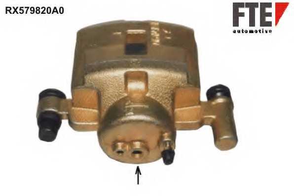 Тормозной суппорт FTE RX579820A0 - изображение