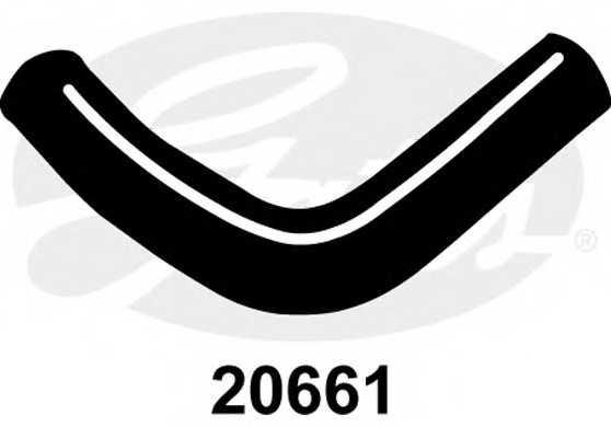 Шланг радиатора GATES 20661 - изображение