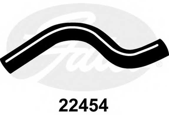 Шланг радиатора GATES 22454 - изображение