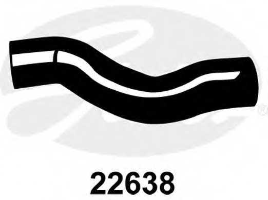 Шланг радиатора GATES 22638 - изображение