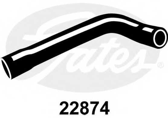 Шланг радиатора GATES 22874 - изображение