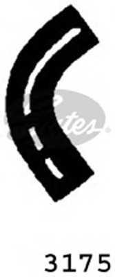 Шланг радиатора GATES 3175 - изображение