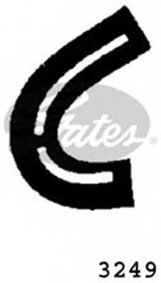 Шланг радиатора GATES 3249 - изображение