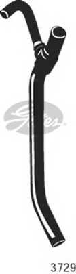 Шланг радиатора GATES 3729 - изображение