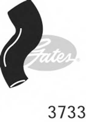 Шланг радиатора GATES 3733 - изображение