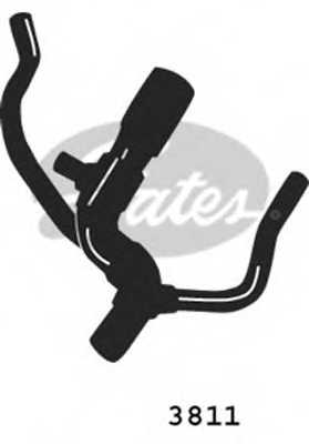 Шланг радиатора GATES 3811 - изображение