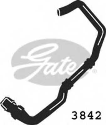 Шланг радиатора GATES 3842 - изображение