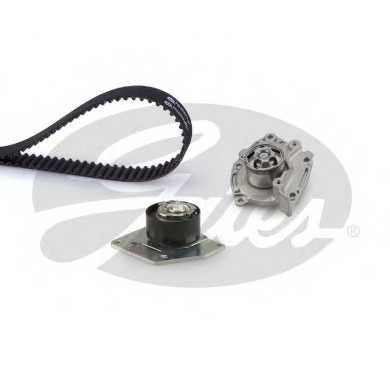 Водяной насос + комплект зубчатого ремня GATES KP15654XS - изображение