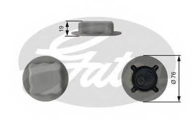 Крышка резервуара охлаждающей жидкости GATES RC206 - изображение