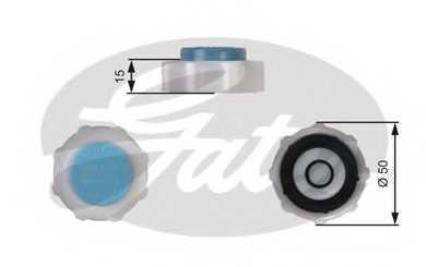Крышка резервуара охлаждающей жидкости GATES RC221 - изображение