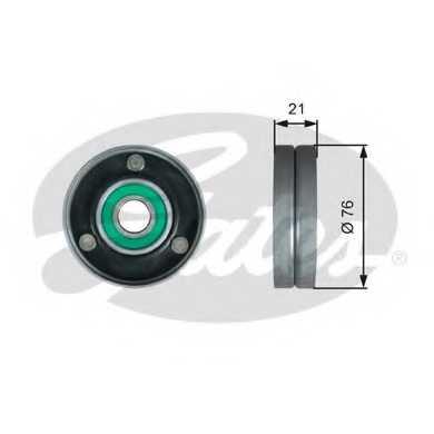 Паразитный / ведущий ролик поликлинового ременя GATES T36730 - изображение