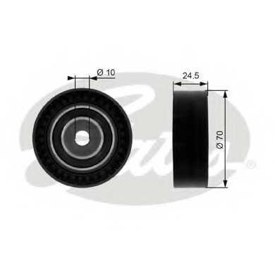 Паразитный / ведущий ролик поликлинового ременя GATES T38071 - изображение
