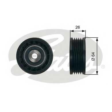 Натяжной ролик поликлиновогоременя GATES T39234 - изображение