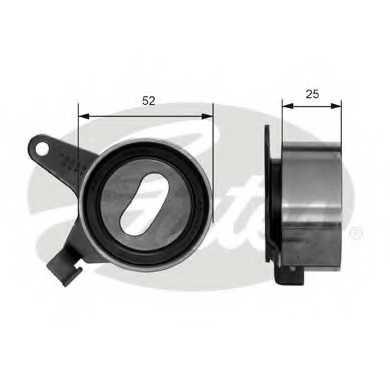 Натяжной ролик ременя ГРМ GATES T41031 - изображение