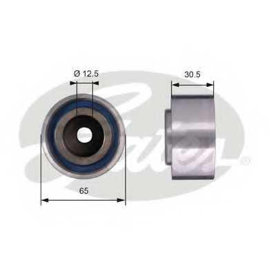 Паразитный / ведущий ролик зубчатого ремня GATES T42061 - изображение