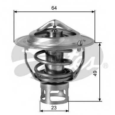 Термостат охлаждающей жидкости GATES TH04077G1 - изображение
