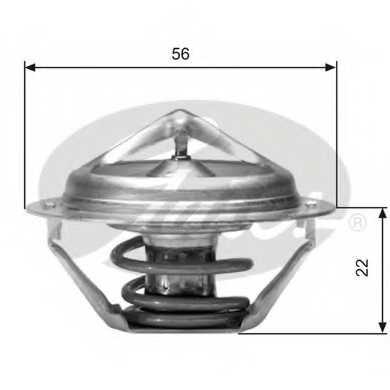 Термостат охлаждающей жидкости GATES TH06177G1 - изображение