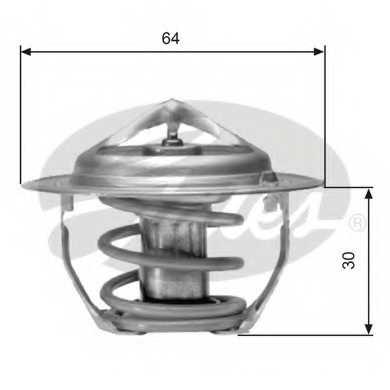 Термостат охлаждающей жидкости GATES TH06477G1 - изображение