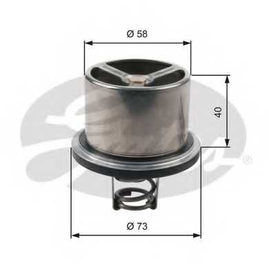 Термостат охлаждающей жидкости GATES TH07882 - изображение