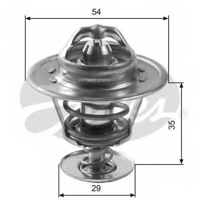 Термостат охлаждающей жидкости GATES TH11088G1 - изображение