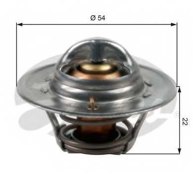 Термостат охлаждающей жидкости GATES TH12792G1 - изображение