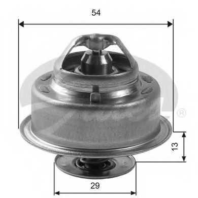 Термостат охлаждающей жидкости GATES TH14488G1 - изображение
