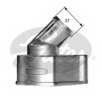 Термостат охлаждающей жидкости GATES TH15087G1 - изображение