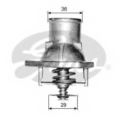 Термостат охлаждающей жидкости GATES TH15182G1 - изображение