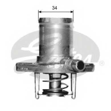 Термостат охлаждающей жидкости GATES TH15289G1 - изображение