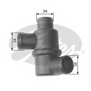 Термостат охлаждающей жидкости GATES TH15480 - изображение
