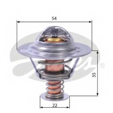 Термостат охлаждающей жидкости GATES TH22689G1 - изображение
