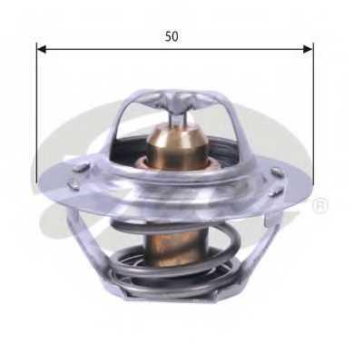 Термостат охлаждающей жидкости GATES TH23383G1 - изображение