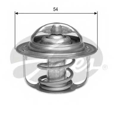 Термостат охлаждающей жидкости GATES TH23582G1 - изображение