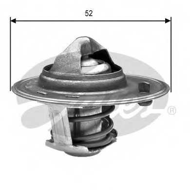 Термостат охлаждающей жидкости GATES TH24488G1 - изображение
